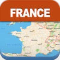France Offline Travel Map