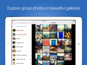 Screenshot imo on iPad