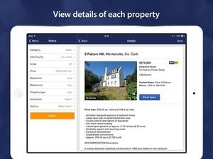 Screenshot Daft.ie on iPad