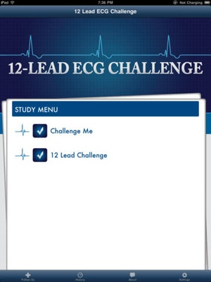 Screenshot 12 Lead ECG Challenge on iPad