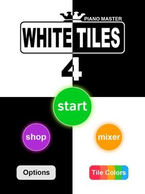 Screenshot White Tiles 4 : Piano Maste on iPad