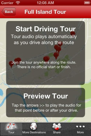 Screenshot Full Maui GPS Driving Tour on iPhone