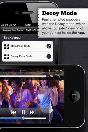 Screenshot My Secret Folder™ on iPhone