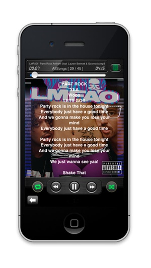 Screenshot EZMP3 Player on iPhone