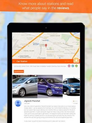 Screenshot Gas Around Me on iPad