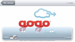 Screenshot Gogo Entertainment on iPhone