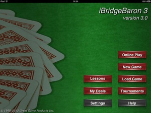 Screenshot Bridge Baron on iPad