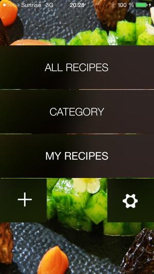 Screenshot CHEFBOX on iPhone