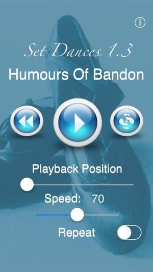 Screenshot Set Dances on iPhone