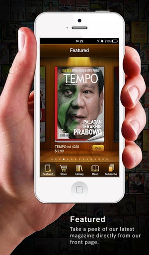 Screenshot Wayang Force Book and Magazine Reader on iPhone