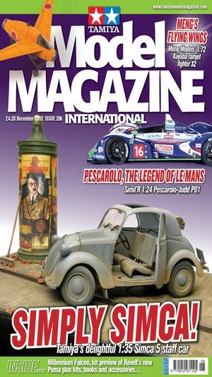 Screenshot Tamiya Model Magazine International on iPhone