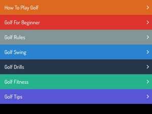 Screenshot How To Play Golf on iPad