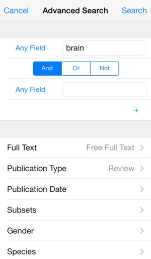 Screenshot Bookends On Tap on iPhone