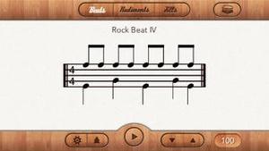 Screenshot Drum Beats for Beginners on iPhone