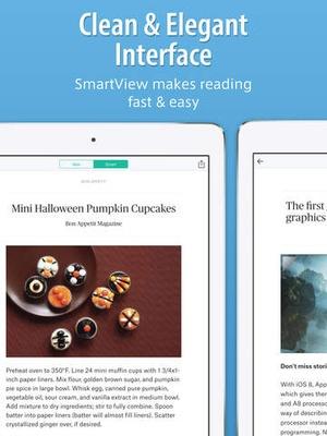 Screenshot SmartNews on iPad