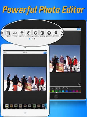 Screenshot Video to Photo Grabber on iPad