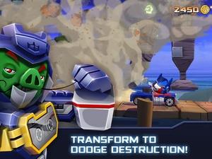 Screenshot Angry Birds Transformers on iPad