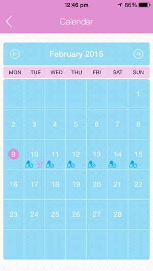 Screenshot My IVF Tracker on iPhone