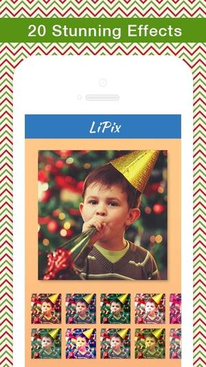 Screenshot LiPix on iPhone