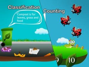 Screenshot Bugs and Bunnies on iPad
