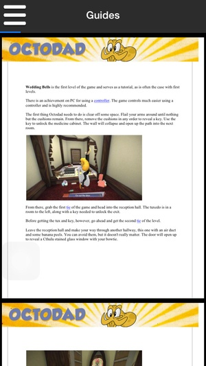 Screenshot Game Pro Octodad: Dadliest Catch Guide Version on iPhone