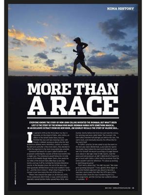 Screenshot 220 Triathlon Magazine on iPad