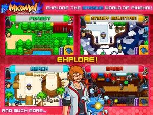 Screenshot Micromon on iPad
