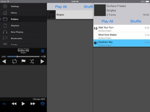 Screenshot iSub Music Streamer on iPad