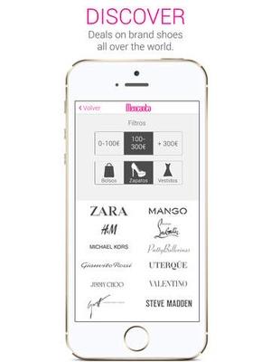 Screenshot Shoes on iPad