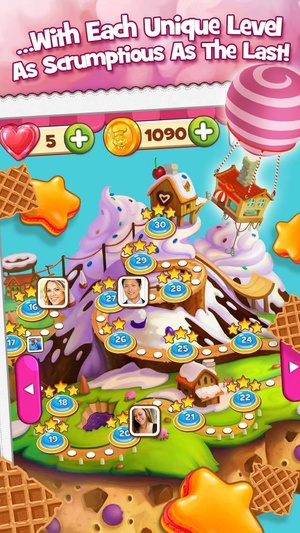 Screenshot Cookie Jam on iPhone