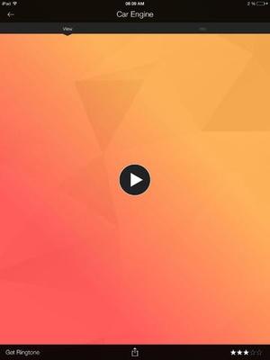 Screenshot ZEDGE™ Ringtones & Wallpapers on iPad