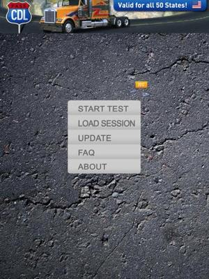 Screenshot Driving on iPad