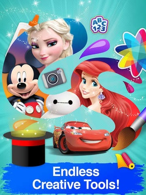 Screenshot Disney Creativity Studio 2 on iPad