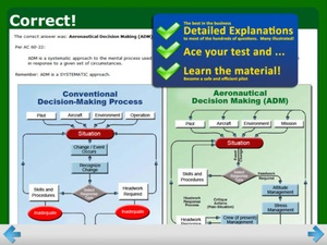 Screenshot GroundSchool FAA Knowledge Test Prep on iPad
