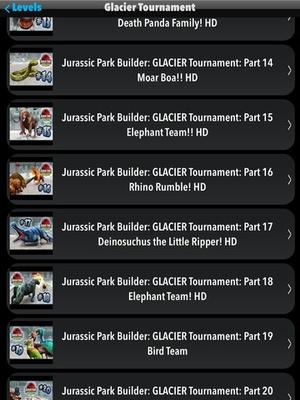 Screenshot Guide+Walkthrough for Jurassic Park Builder (Unofficial) on iPad