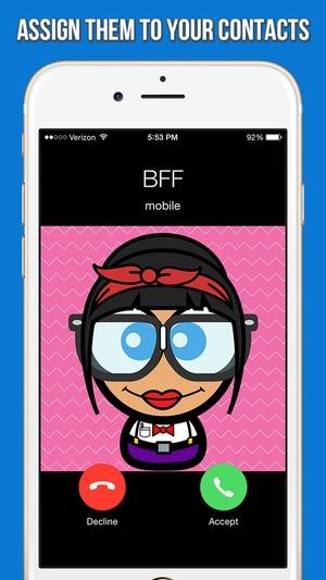 Screenshot Cute Avatar Creator on iPhone