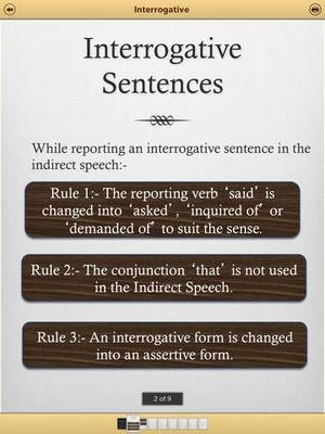 Screenshot Grammar Express on iPad