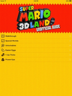 Screenshot Guide for Super Mario 3D Land on iPad