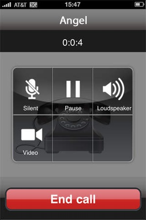 Screenshot Vichat for Facebook video chat Pro on iPhone