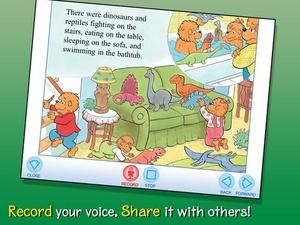 Screenshot The Berenstain Bears' Dinosaur Dig on iPad