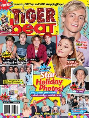 Screenshot Tiger Beat Magazine on iPad