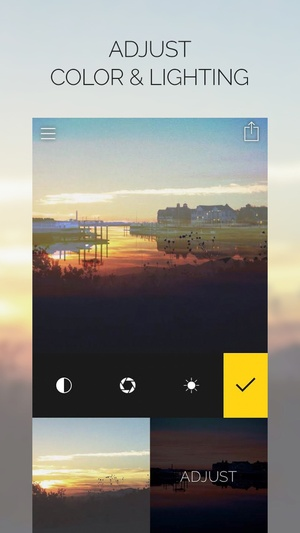 Screenshot Fused : Double Exposure, Video and Photo Blender on iPhone