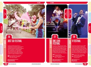 Screenshot The Festival Guide on iPad