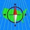 UTM Grid Ref Compass