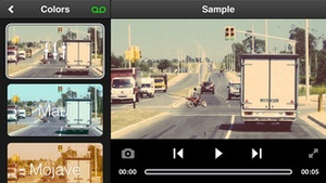 Screenshot Videon on iPhone