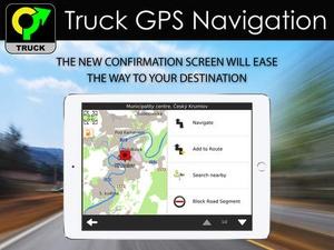 Screenshot Truck GPS Navigation & Maps on iPad