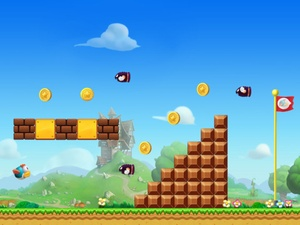 Screenshot Super Bird Adventure on iPad