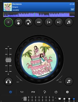 Screenshot DJ Mixer 3 on iPad