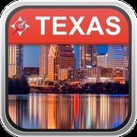 Offline Map Texas, USA: City Navigator Maps