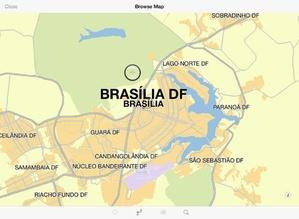 Screenshot TomTom Brazil on iPad